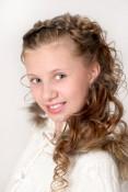 Пименова Анастасия Маленькая мисс Россия 2013 в категории 10-12 лет