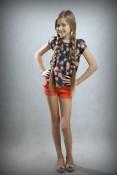Маленькая мисс Россия 2014 в категории 10-12 лет Cитина Анастасия 12 лет Омск