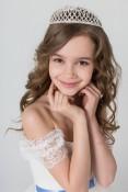Маленькая мисс Россия 2015 в категории 7-9 лет, Дарчидзе Алиса, Красноярск