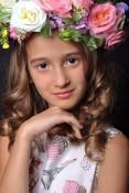 Маленькая мисс Россия 2014 в категории 7-9 лет Павловская Елизавета 9 лет Красноярк