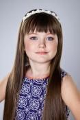 Маленькая мисс Россия в категории 8-12 лет Верховская Анастасия, Петрозаводск